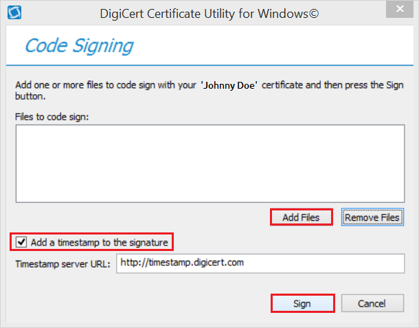 code-signing-with-digicert-utility